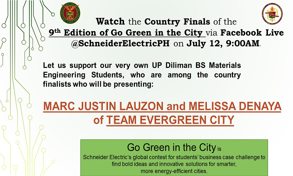 9th Edition of Go Green in the City