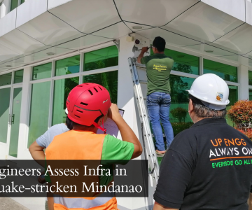 UP Engineers Assess Infra in Earthquake-stricken Mindanao