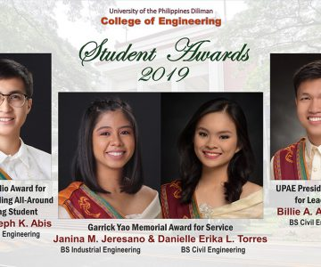 UP CoE Student Awards