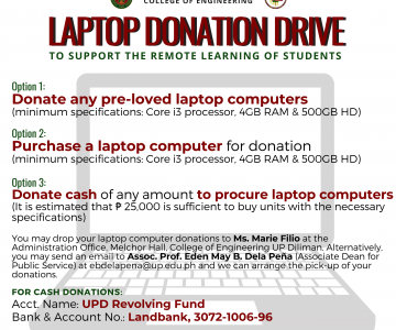 Laptop Donation Drive