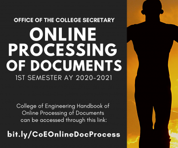 Online Processing of Documents – Office of the College Secretary