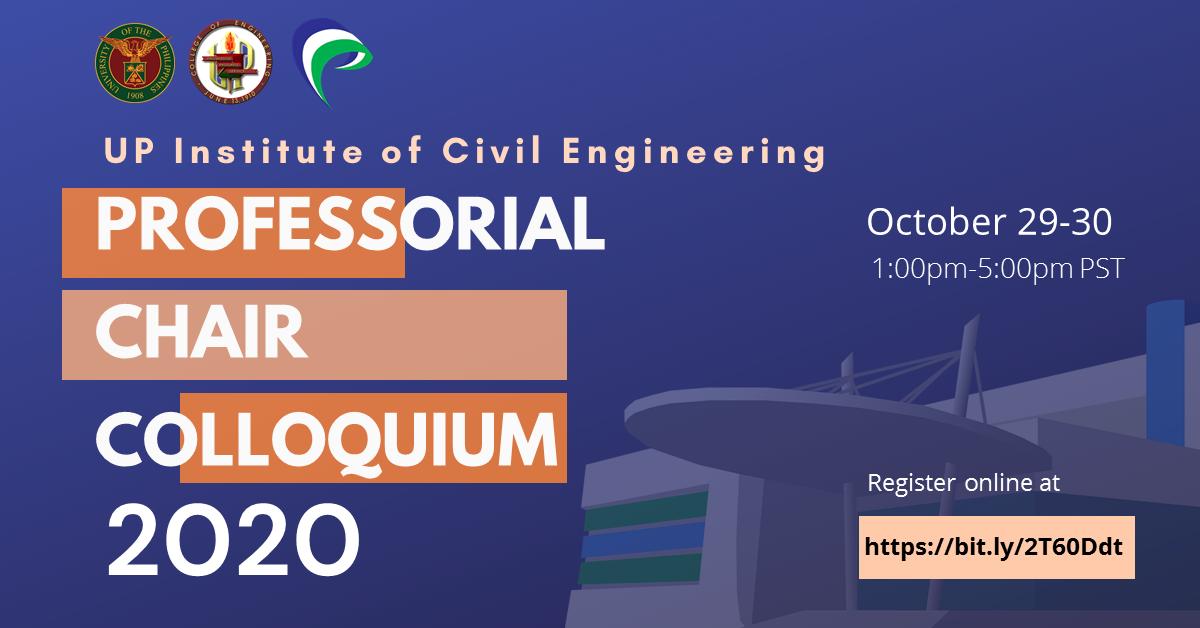 UP Institute of Civil Engineering PCA (Professorial Chair Awards) Colloquium