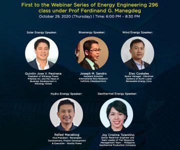 Alternative Energy: Challenges and Opportunities Webinar