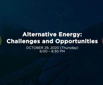 Webinar on Alternative Energy discussed current challenges and opportunities