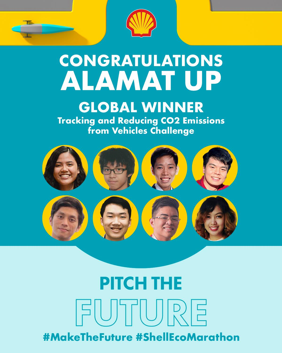 Team Alamat UP wins in the Shell Pitch the Future Global Competition