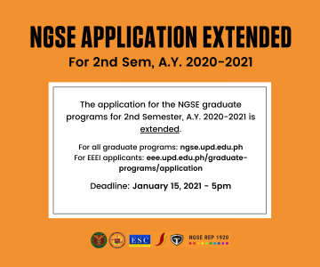 NGSE Applications Deadline is Extended