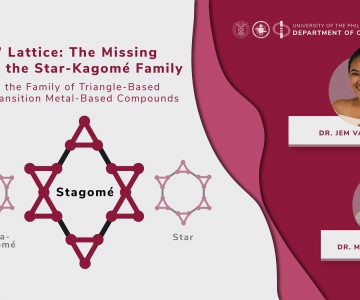 DChE Faculty Couple Discovers Missing Link in the Star-Kagomé Family of Triangle-Based Lattices for Transition Metal-Based Compounds