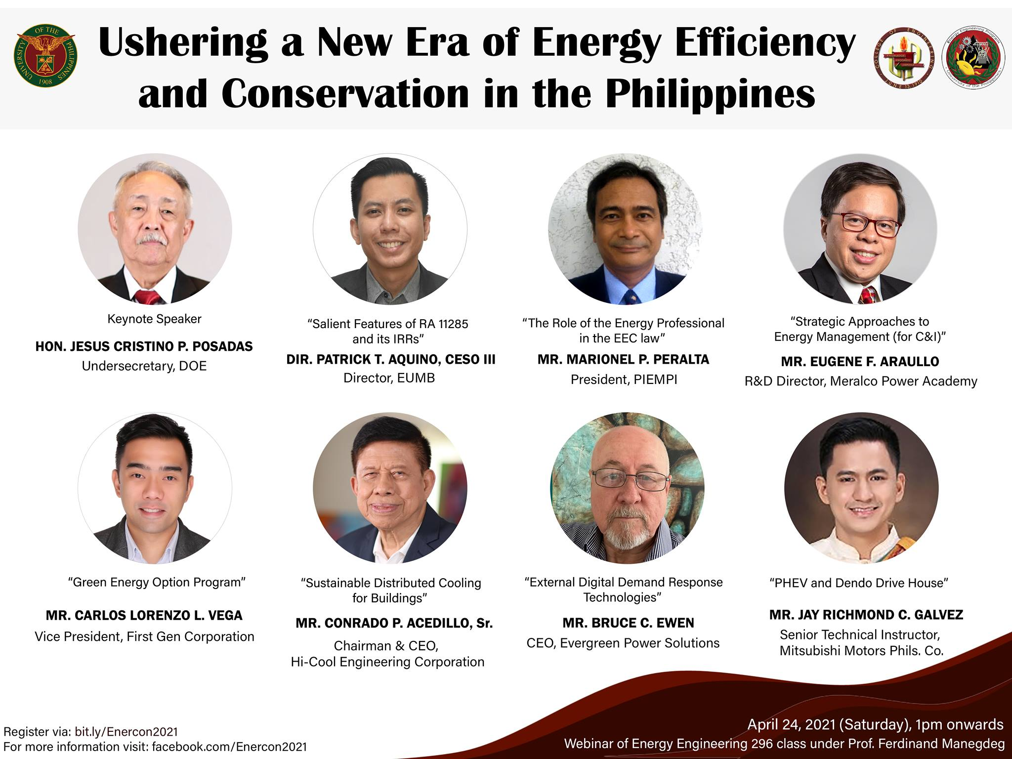 Energy Efficiency and Conservation Webinar