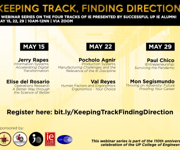 [Webinar series] Keeping Track, Finding Direction