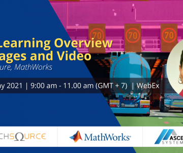 """[Webinar] Loren Shure (MathWorks) Tour Academic Live Event """"Deep Learning Overview for Images and Video"""""""