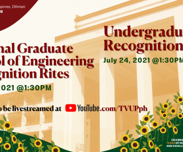 2021 UP COE Undergraduate and NGSE Recognition Rites