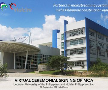 Holcim Philippines, Inc. partners with UP